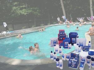 Очистка воды в бассейнах
